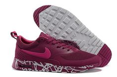 best service 2a851 80084 Buy 2015 Newest Nike Air Max 90 87 Thea Print Womens Running Shoes Mesh  Breathable Wine Colorway Carving from Reliable 2015 Newest Nike Air Max 90  87 Thea ...