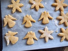 Lemon and White Chocolate Christmas Cookies Chocolate Christmas Cookies, Shortbread Cookies, White Chocolate, Italian Recipes, Delicious Food, Cookie Recipes, Biscuits, Muffins, Vanilla