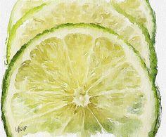 Vitaly Shchukin (piker77) DIGITAL WATERCOLOR Lime