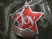 Joy - Christmas Gift Tag