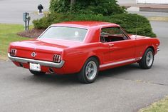 1965 Mustang Shelby GT - Little red beauty!