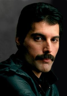 FREDDIE MERCURY (lead singer for the band, Queen)