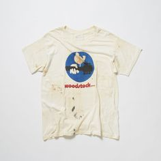 Woodstock Music and Art Festival : Vintage Print Tshirt