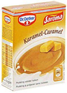 DR OETKER SAROMA pudding caramel 74 g