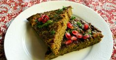 Kuku Kadoo is an exquisite (and super-simple!) Iranian-style frittata with zucchini.