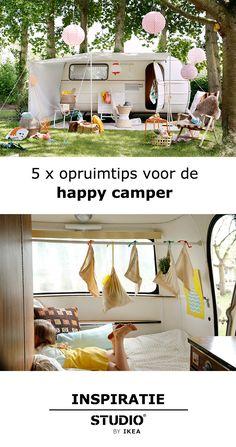 5x opruimtips voor de happy camper