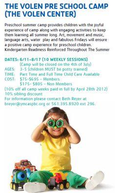 The Volen Center Pre School Camp