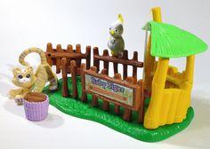 Vintage Littlest PET Shop ZOO Nursery Baby Tiger BY Kenner 1993 LPS