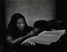 """zzzze: """"W. Eugene Smith Mary Lou Williams (From """"Recording Artists Series), 1947 Silver print """" Photography Career, History Of Photography, Documentary Photography, A Love Supreme, Lou Williams, Eugene Smith, William Klein, Eugene Atget, Berenice Abbott"""