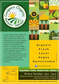 Organic Market in Gurgaon