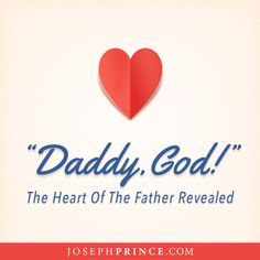 """Learn why God is not just Almighty God, but also your Daddy God, and how simply crying, """"Daddy, God!"""" is itself a most powerful prayer. Experience the liberating Spirit of grace and the tangible love of your heavenly Father in this anointed message preached by Joseph Prince in Lakewood Church. http://www.josephprince.com/2014/04/daddy-god-the-heart-of-the-father-revealed/"""