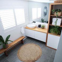 44 Ideas Bathroom Renovations Australia Vanities For 2019 Bathroom Renos, Budget Bathroom, Laundry In Bathroom, Bathroom Layout, Bathroom Renovations, Coastal Bathrooms, Modern Bathroom, Small Bathroom, Bad Inspiration