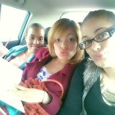 In our way to preaching!! Love my sisters.♡♥♡♥