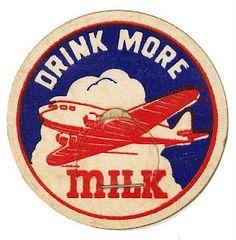 Milk bottle cap