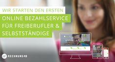 Rechnung48 startet erstenOnline Bezahlservice für Freiberufler und Selbstständige