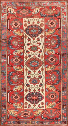 Antique Persian Kurdish Bidjar Rug 47409