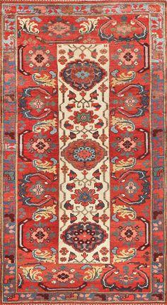 Antique Persian Kurdish Bidjar Rug 47409