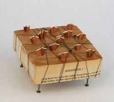 Lisa Kokin | Small Sculpture Book Art My next art project! :)