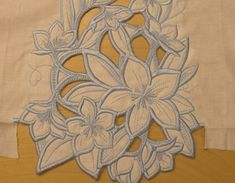 cutwork embroidery by hand