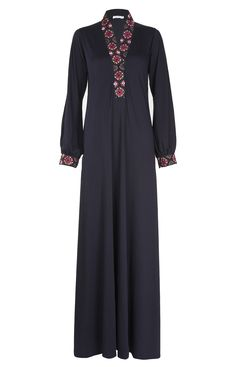 Aab UK Bullion Rose Abaya : Standard view