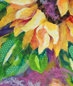 designs with tissue paper collage