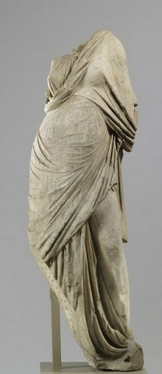 Marble of Muse - Roman copy of 2nd century AD, at Walters Art Museum