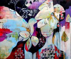 Verwondering. 120x80cm Acryl op canvas Cynthia Jagtman Abstract Landscape, Abstract Art, Abstract Paintings, Modern Art, Contemporary Art, Flora Bowley, Love Art, Mixed Media Art, Artsy