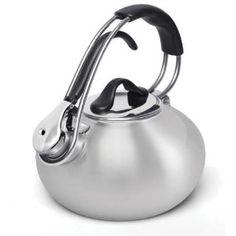Chantal(シャンタール) ステンレス ループ笛吹きケトル 1.7L IH対応 Chantal Ergonomic Stainless Steel Tea Kettle