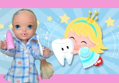 Elsa and Anna Toddlers   Elsa loses first tooth Visit from Tooth Fairy B...