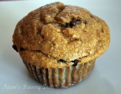 Chocolate Chip Banana Muffins   [healthy enough to serve for breakfast]