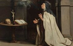 The blog inside is not a writing of St Teresa of Avila, although they used her portrait. | St Teresa of Avila has also written herself, If a person does not feel in union with God after personal Prayer, then they may have had a mystical experience, but it was not true union with God.