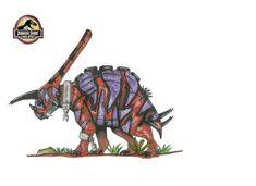 Torowuerhocerias - Jurassic Park Fan art on Wiki Jurassic World Dinosaurs, Jurassic Park World, Dinosaur Art, Dinosaur Fossils, Michael Crichton, Dino Drawing, Science Fiction Games, Creature Drawings, Prehistoric Animals