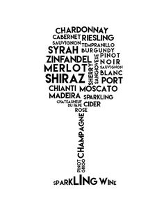 Different Kinds of Wine Printable Wine Sign Wine Gifts Gifts For Wine Lovers, Wine Gifts, Gift For Lover, Transférer Des Photos, Wine Names, Wine Stand, Chateauneuf Du Pape, Pouring Wine, Homemade Wine