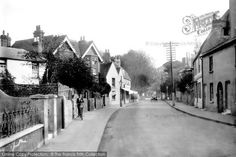 Photo of Broadwater, The Village 1919 from Francis Frith Worthing, History Photos, Local History, Brighton, Past, British, Street View, Places, Pictures
