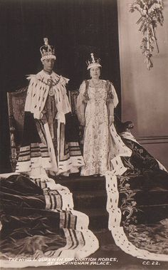 George VI Coronation -- 1937 So stupid. Jesus is God and he wore a sack cloth and sandals.