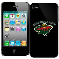 NHL Minnesota Wild iPhone 4 Hardshell Case - Black by Football Fanatics. $29.95. Fits iPhone 4. Durable polycarbonate protects your device. Rigid shell snaps on for snug, precise fit. Minnesota Wild iPhone 4 Hardshell Case - BlackRigid shell snaps on for snug, precise fitFits iPhone 4Easy access to ports & controlsDurable polycarbonate protects your deviceImportedOfficially licensed Wild iPhone caseSlim design adds protection, not bulkDurable polycarbonate prot...