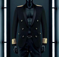 55351cf56f02 BALMAIN x H&M Lookbook MEN #BALMAINxHM #Balmaination H M Men, Men's  Wardrobe