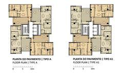 360° Building,Plantas Tipo A