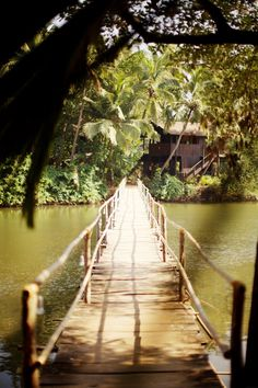 Bridge to paradise...