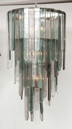 Large Murano Chandelier by Mazzega image 2