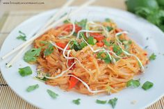 Healthy Pad Thai... Can replace with zoodles