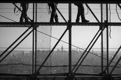 """""""Where Steel Meets Sky"""" First Place  Damon Winter  The New York Times"""