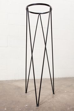 Tall Retro Metal Plant Stand