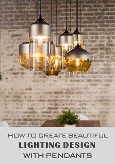 Lighting Design | Pendant Light Fixtures | Mix and Match