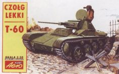 T-60 Light Tank. Aeroplast, 1/72, initial release 1996, No.01. Price: Not Sold.