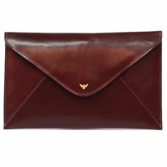 The 1887 Clutch - Bordeaux | Ebby Rane | Wolf & Badger  /  Women / Accessories / Bags