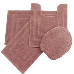 3pc Memory Foam Contour Bath Rugs 20 Bathroom Furniture