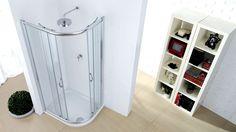 rotelle x box doccia circolare : Box doccia in vetro temperato da 6 mm con struttura in alluminio ...