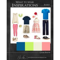 """""""What to Wear Inspirations - Family"""" by jleephoto on Polyvore"""