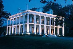 Dunleith Plantation - Natchez, Mississippi....